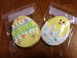 イースター礼拝記念プレゼントの手作りクッキー