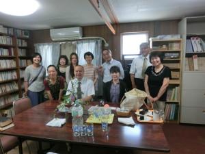 額賀先生と記念写真