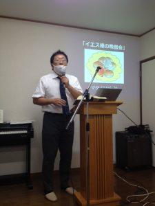 宣教師の浜名先生